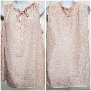 Fleur bleve sleeveless blouse